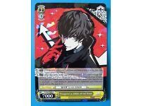 Persona 5 Weiss Schwarz Promotional Deck Box Case Holder UNTOUCHED UNBUILT