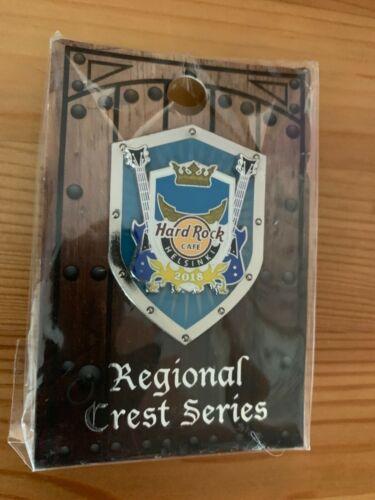 Hard Rock Cafe Helsinki Regional crest series pin