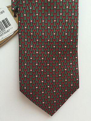NWT!  Boy's Christmas Tie, 100% Silk, By Class Club