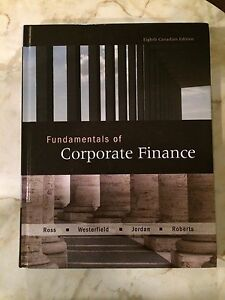 fundamentals of corporate finance 8th edition Corporate finance 8th edition ross, westerfield, and jaffe  in the corporate  form of ownership, the shareholders are the owners of the firm the shareholders.