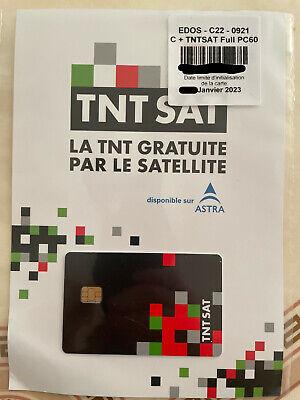 ✅ CARTE TNTSAT ASTRA 19.2E VALABLE 4 ANS PC6 VALIDE 4 ANS