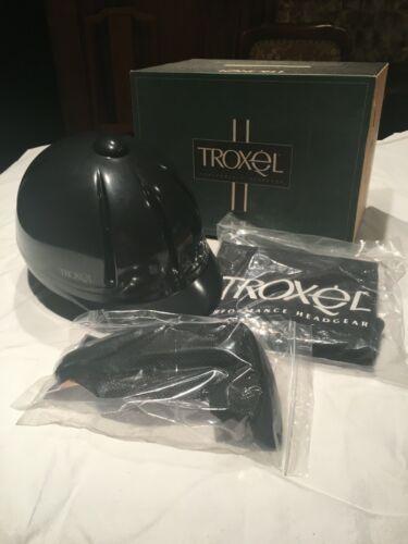 TROXEL LEGACY TRAINING HELMET; BLACK, LARGE