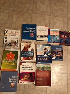 LPN textbooks 1st and some 2nd