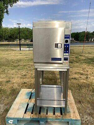 Convection Steamer Cleveland 21cga5 On Stand Nat. Gas Tested