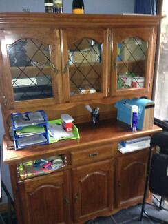 Wooden display cabinet Kensington Melbourne City Preview