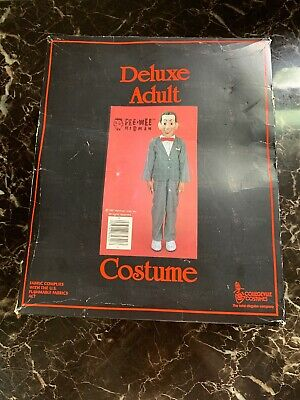 COLLEGEVILLE  PEE WEE HERMAN  COSTUME  1987  BOXED  DELUXE ADULT  LARGE](Peewee Herman Costume)