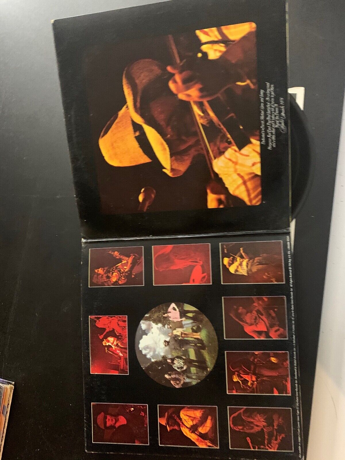 LP RECORD - THE CHARLIE DANIELS BAND - FIRE ON THE MOUNTAIN - KAMA SUTRA RECORD - $9.99