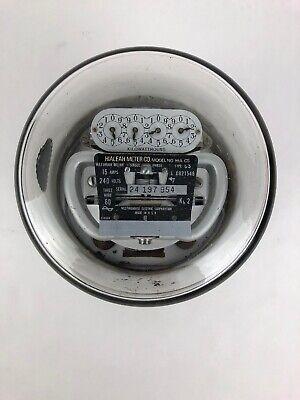 Electric Watt Hour Meter Westinghouse Type Cs Gauge Steampunk Decor Fstshp