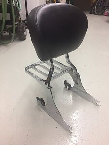 Passenger Back Rest - Harley Softail