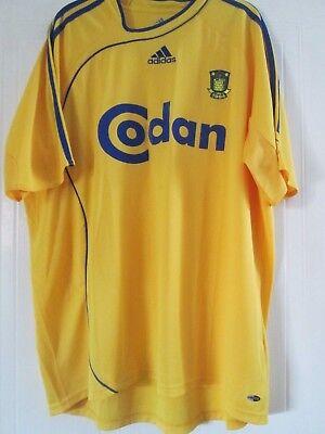 Brondby 2006-2008 Home Football Shirt Size Adult XL  /43867