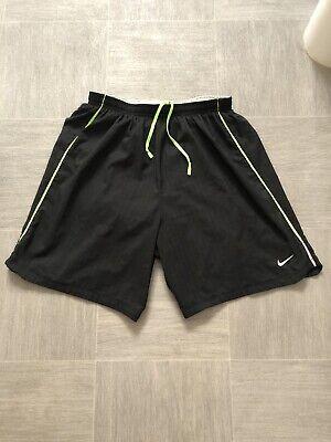 Mens Nike Dri-Fit Black Shorts Size Small