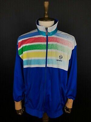 Sergio Tacchini Vintage Full Zip Track Jacket Top Size 42