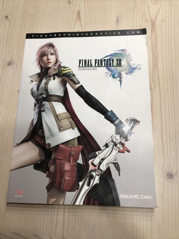 Final Fantasy 13 Das Offizielle Lösungsbuch von 2010