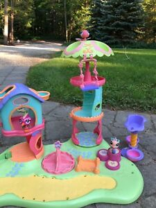 Huge lps playground set with pets