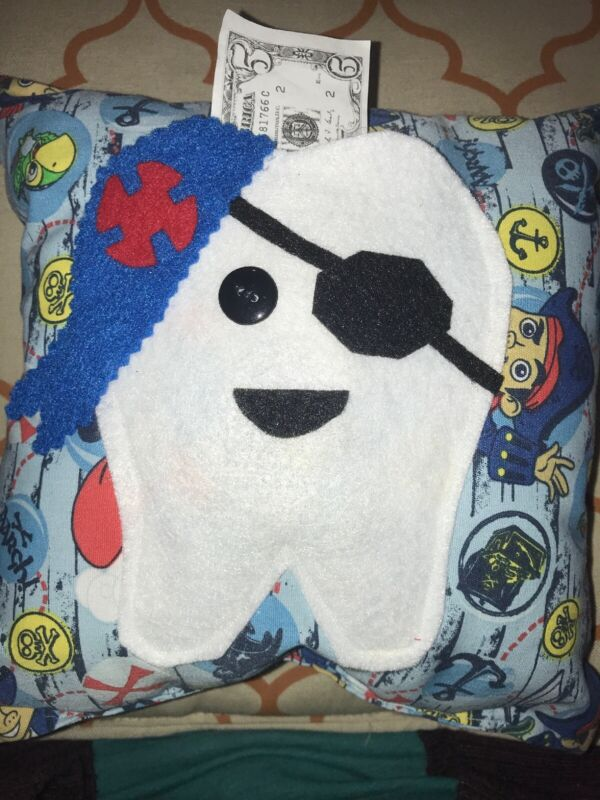 Pirate Jake And The Never land Pirates Tooth Fairy Pillow