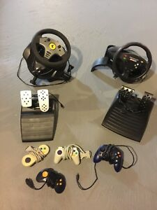 1999 thrustmaster and xbox wheels