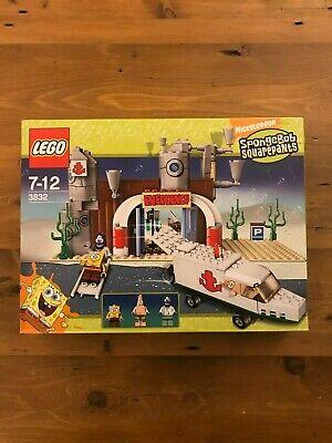 Lego 3832 Spongebob Emergency Hospital Room New But Damaged Box