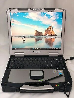 Panasonic Toughbook CF-30 Touchscreen 1.60GHz MK3 Win 10 Pro 4GB 320GB