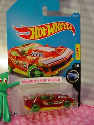 DRIFT ROD #321✰red/yellow;oh5 green;12✰X-RAYCERS✰2017 i Hot Wheels case Q/2018 A