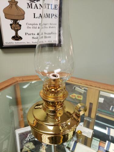 Aladdin Brass Candlestick lamp