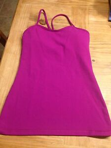 Lululemon Brand New Size 6 Built inBra