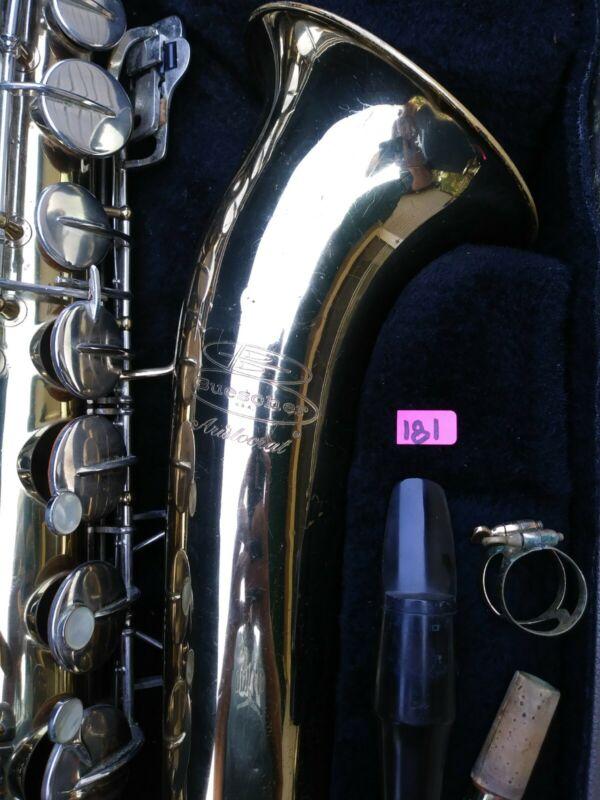 Buescher Aristocrat Tenor Saxophone Selmer Paris S80 C** mouthpiece