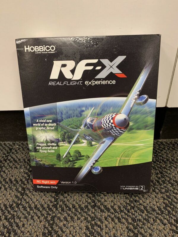 Hobbico Realflight RF-X Software Only BRAND NEW!! GPMZ4548