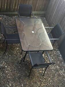 Outdoor Dining Table and Four Chairs Bowen Hills Brisbane North East Preview