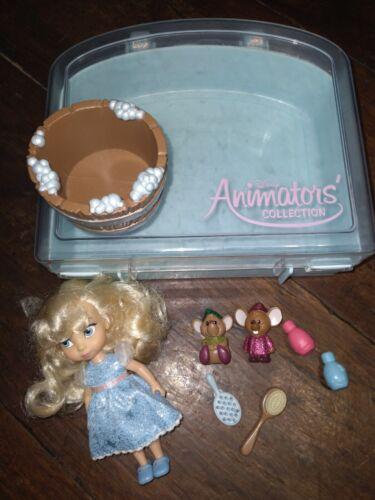 "New Disney Parks Cinderella Animators Mini 5"" Doll Playset (Missing Dog)"