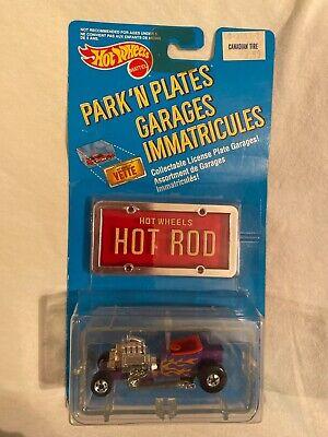 Hot Wheels Park n Plates T Bucket Rod Canada ? Rare Red Interior Variation ?