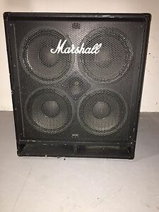 Marshall 4ohm amp