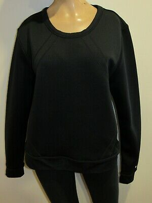 Fabletics Womens Black Pullover Sweatshirt Size M