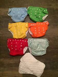 14 cloth diapers!