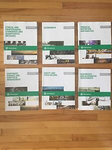 CFA program curriculum 2013 level 1 (vol 1-6) CFA INSTITUTE