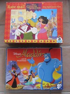 88 Damen Spieler (2 Spiele Disney's Aladdin + Der Glöckner von Notre Dame ab 6-88 Jahre)