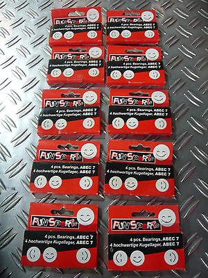 10x 4 er Set Kugellager ABEC 7 hochwertig Sonderposten