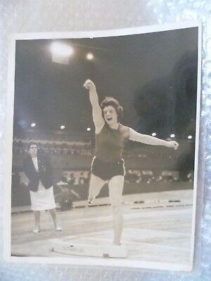 Original Press Photo- Suzanne Allday- 1962 British Empire and Commonwealth Games