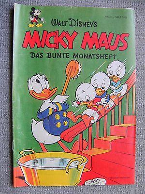 Micky Maus Hefte, Beilage, Nachdruck Nr. 3 Jahrgang 1952, Comics, Walt Disney`s