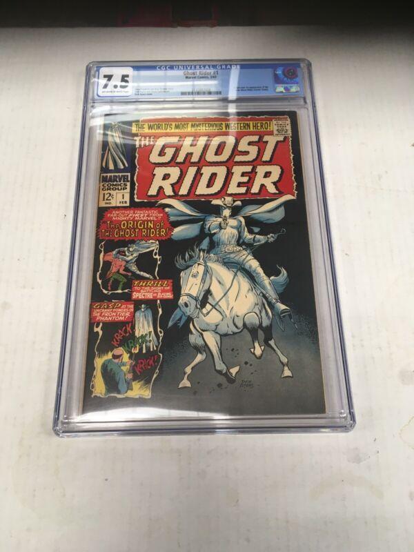 Marvel Comics Ghost Rider #1 CGC Graded 7.5