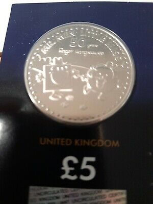 Mr MEN £5 Coin and Mr Men  Little Miss £5 pound coin 2021 sealed in blue card