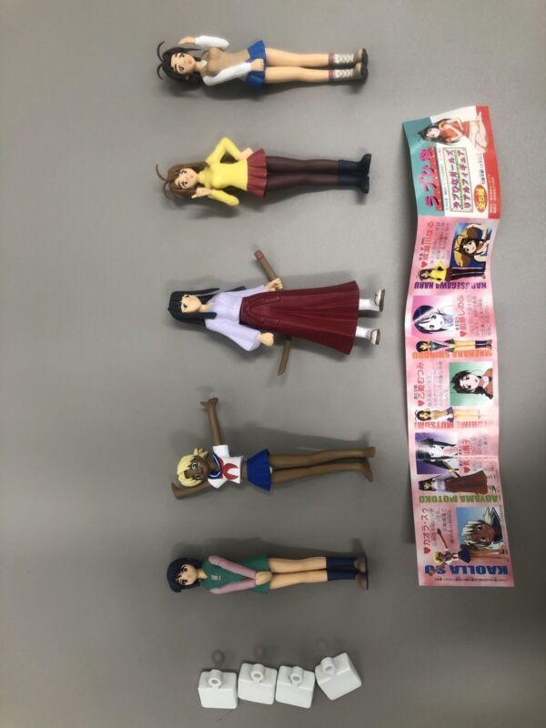 Love Hina Gashapon Capsule Figurines! Complete Set! *Very Rare* Japanese Anime