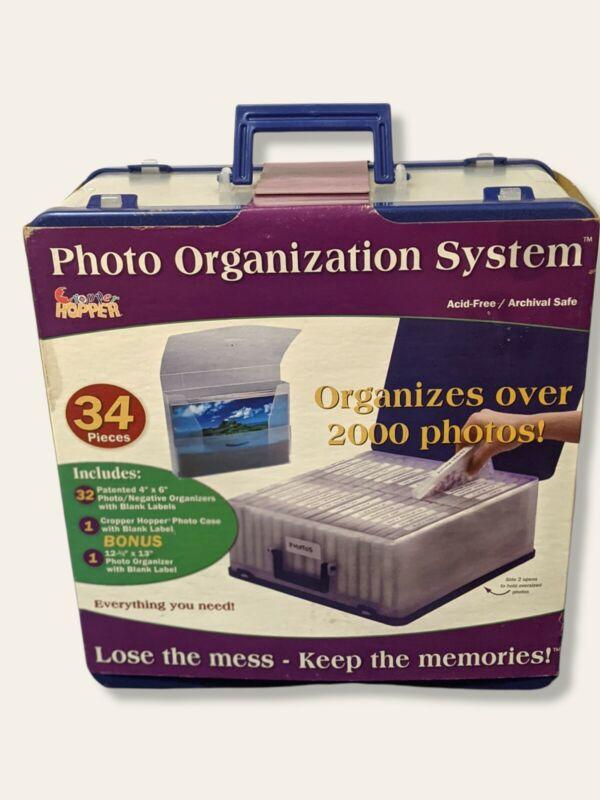 Cropper Hopper Photo Organizer Storage Case SYSTEM Acid Free Organization NEW