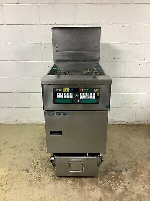 Pitco Gas Fryer Solstice Supreme Sfssh60w With Filtration System Tested