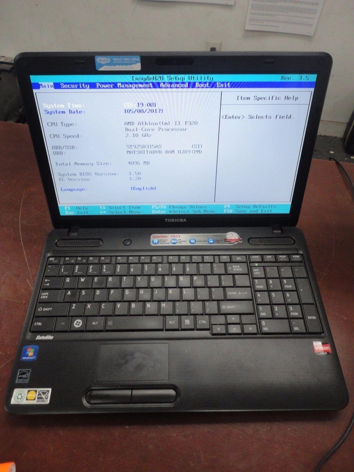 toshiba satellite c655 drivers windows 7 64 bit download
