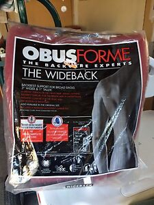 Obus Form wide back and lumbar pad