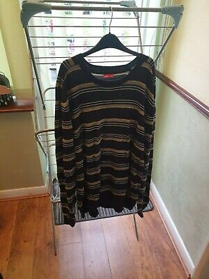 Puma mens striped jumper