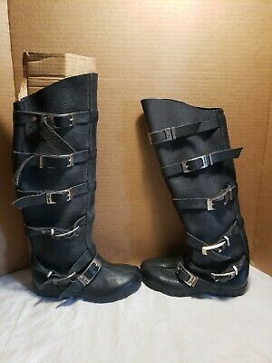 Son of Sandlar WOMEN SZ 6 BUCKLE Renaissance Cosplay Boots Steampunk Knee High