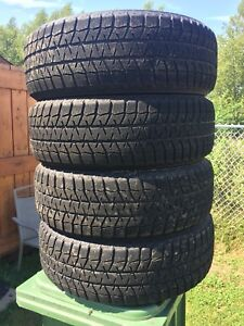 p225/60/18 inch Winter Tires / LOTS OF TREAD / GREAT DEAL