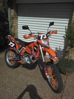 KTM 450 motorbike