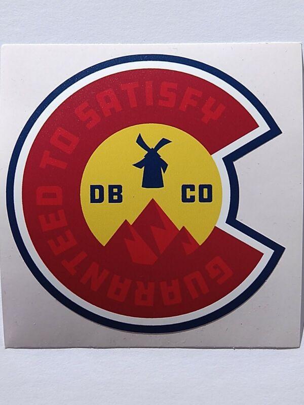 Dutch Bros Sticker Colorado